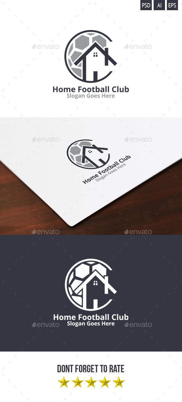 GraphicRiver Home Football Club Logo 9406038