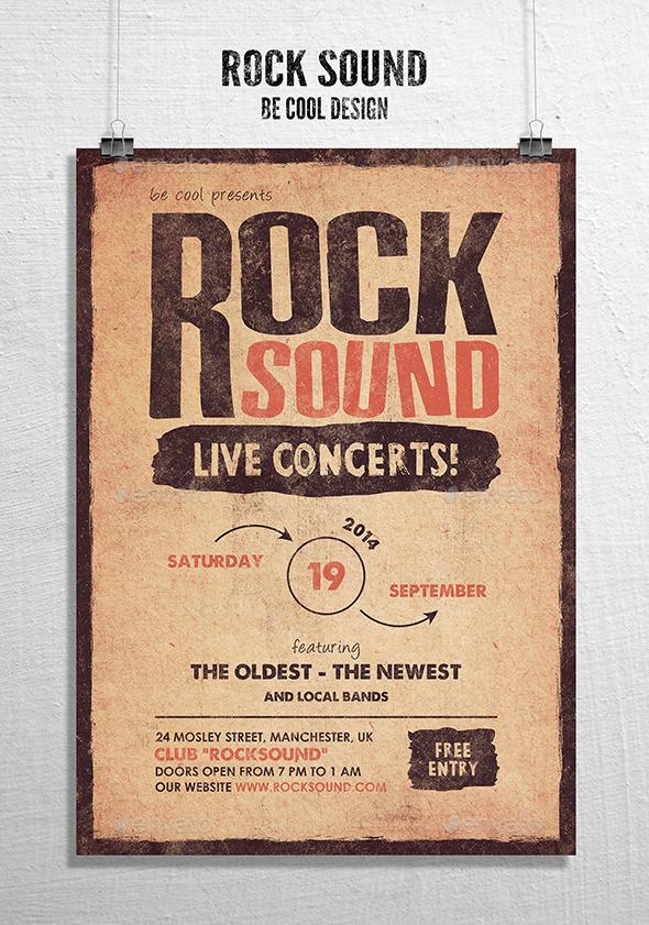 Rock Flyer Poster