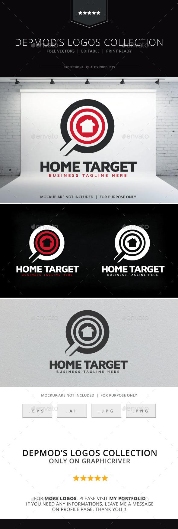 GraphicRiver Home Target Logo 9144550