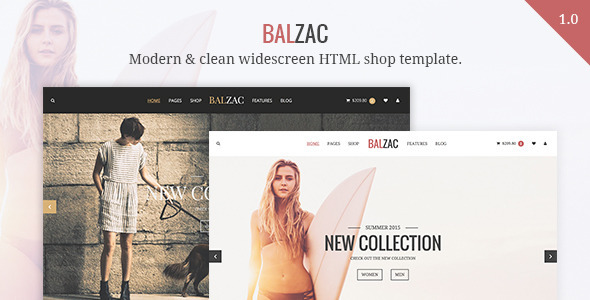 ThemeForest Balzac Modern eCommerce HTML5 CSS3 UIkit 9406203