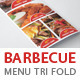 BBQ Menu Tri Fold Template - GraphicRiver Item for Sale