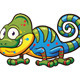 Cartoon Chameleon - GraphicRiver Item for Sale