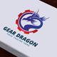 Gear Dragon Logo - GraphicRiver Item for Sale