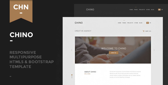ThemeForest Chino Responsive Multipurpose Template 9406397