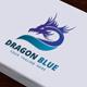 Dragon Blue Logo - GraphicRiver Item for Sale