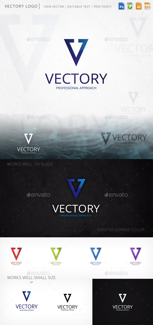 GraphicRiver Vectory Logo 9406518