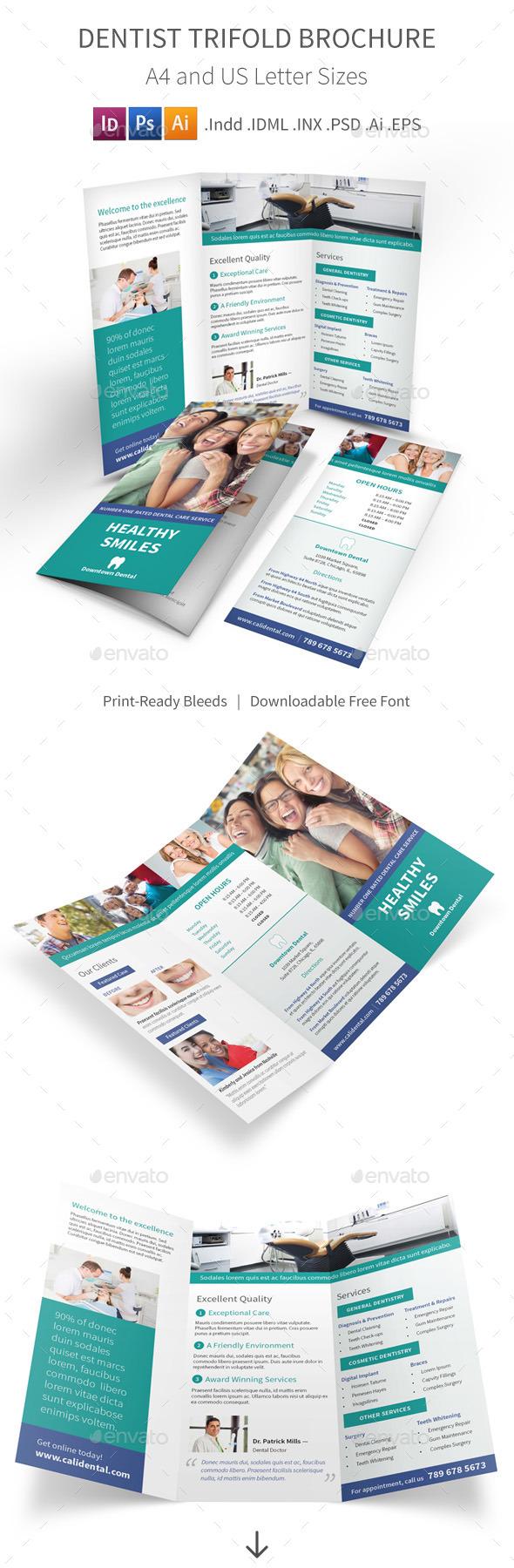 Dentist Trifold Brochure