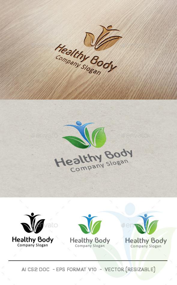 GraphicRiver Healthy Body Logo 9406595