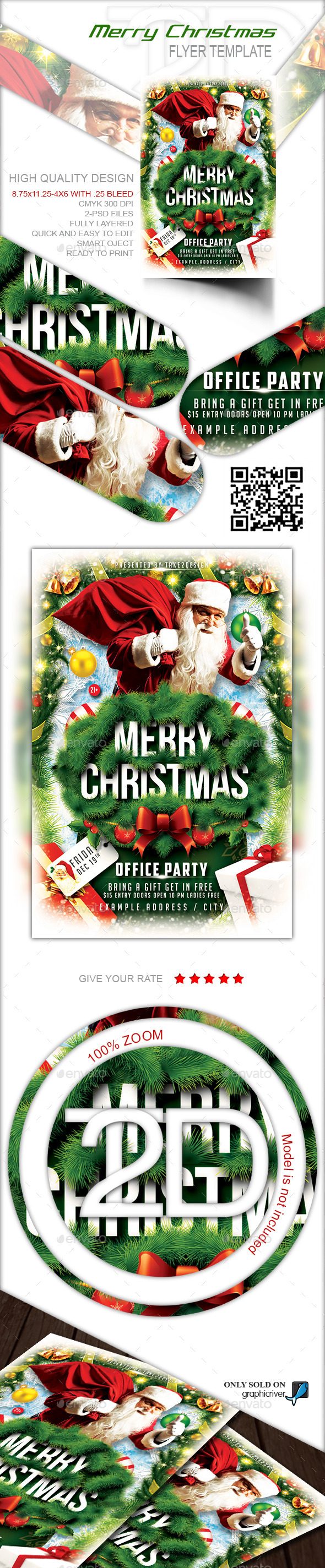 GraphicRiver Christmas Party-Merry Christmas 9360099