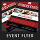 Fitness Class Promotional Flyer - GraphicRiver Item for Sale