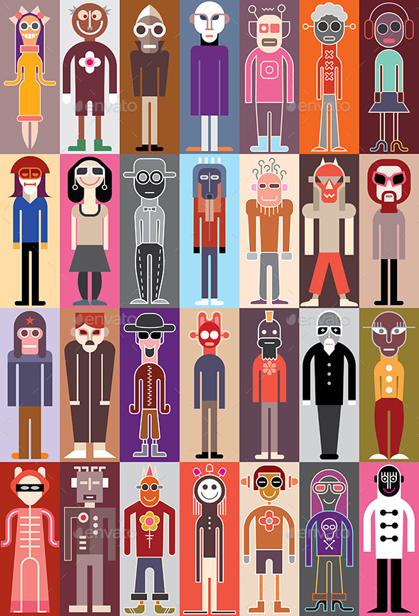 GraphicRiver People Vector Illustration 9407003