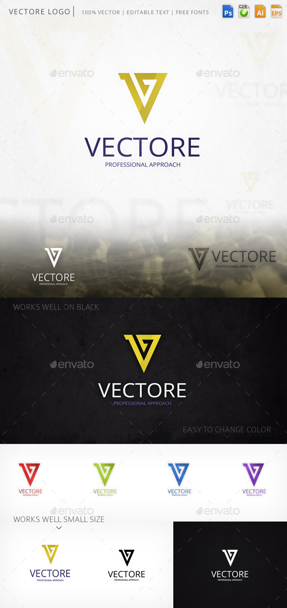 GraphicRiver Vectore Logo 9407305