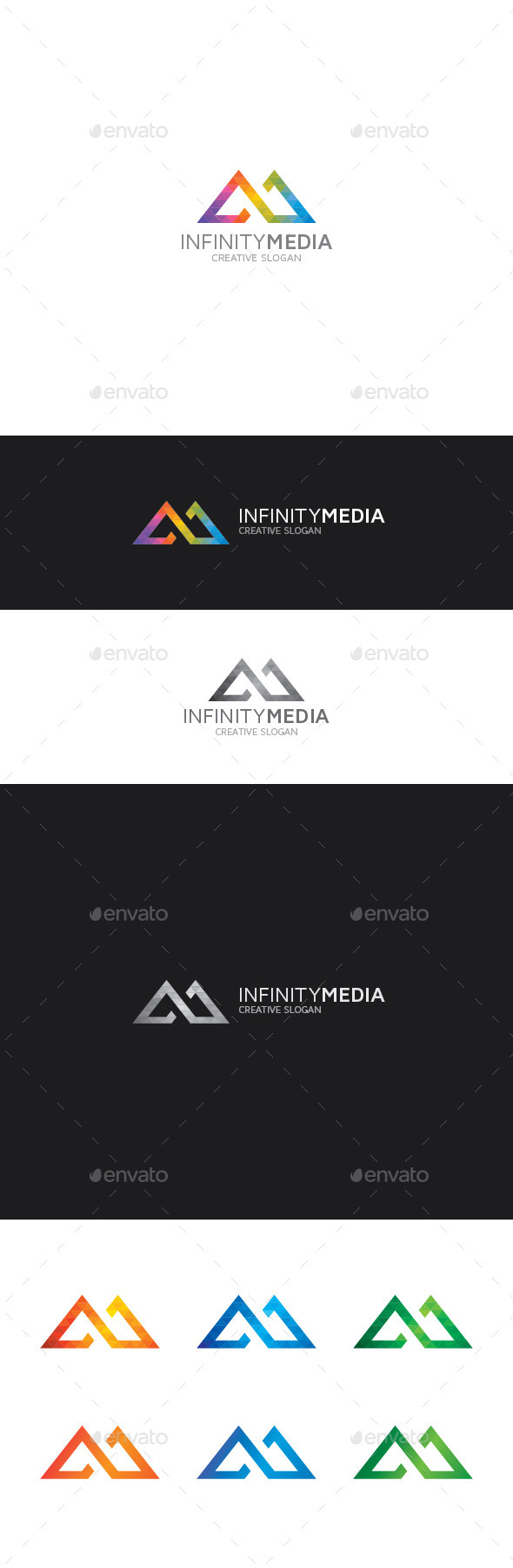 GraphicRiver Infinity M Letter Logo 9407345