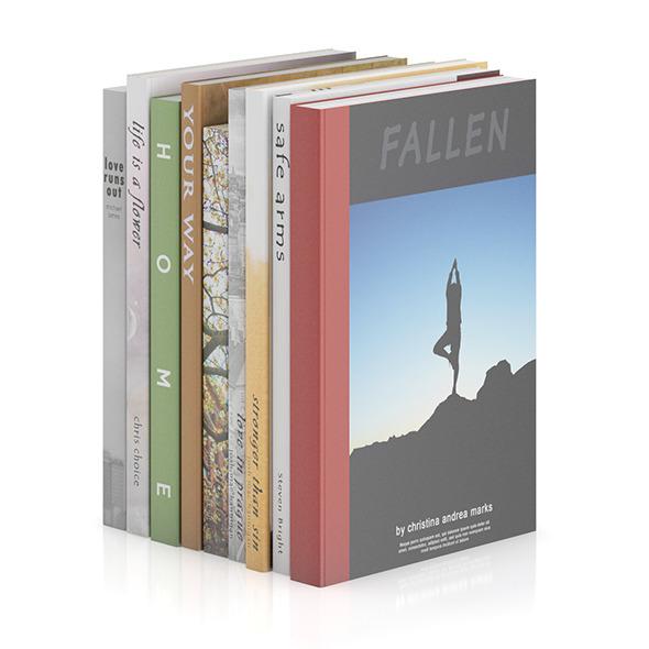 3DOcean Books 16 9407803
