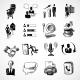 Office Sketch Icons Set - GraphicRiver Item for Sale