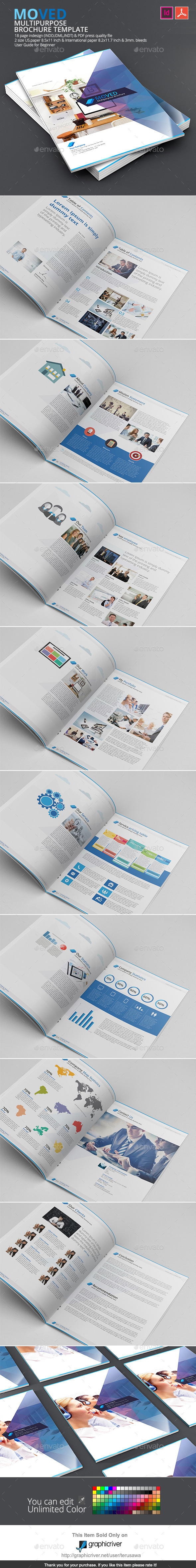 GraphicRiver Moved Brochure Template 9408208