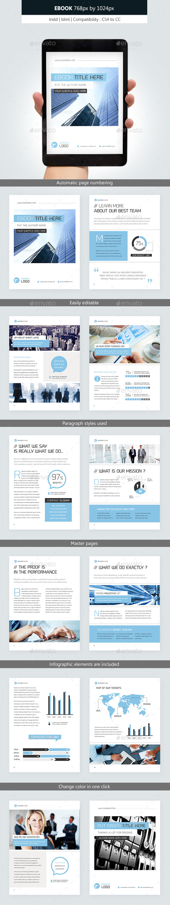 Corporate Ebook Template Design vol.2