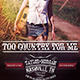 "8.5""x11"" Country Music Poster - GraphicRiver Item for Sale"