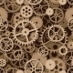 Gears Seamless Background