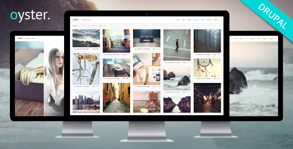 ThemeForest Oyster Creative Photography Drupal Theme 9409493