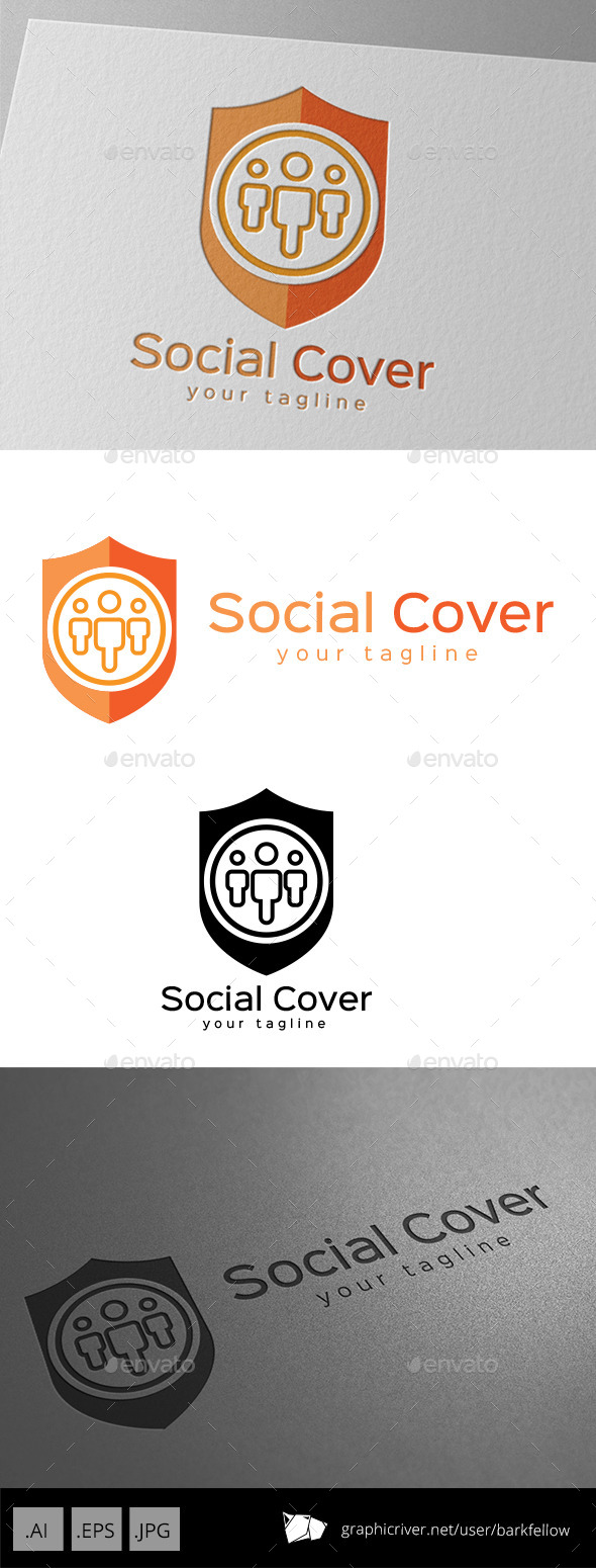 GraphicRiver Social Cover and Protection Template 9409771
