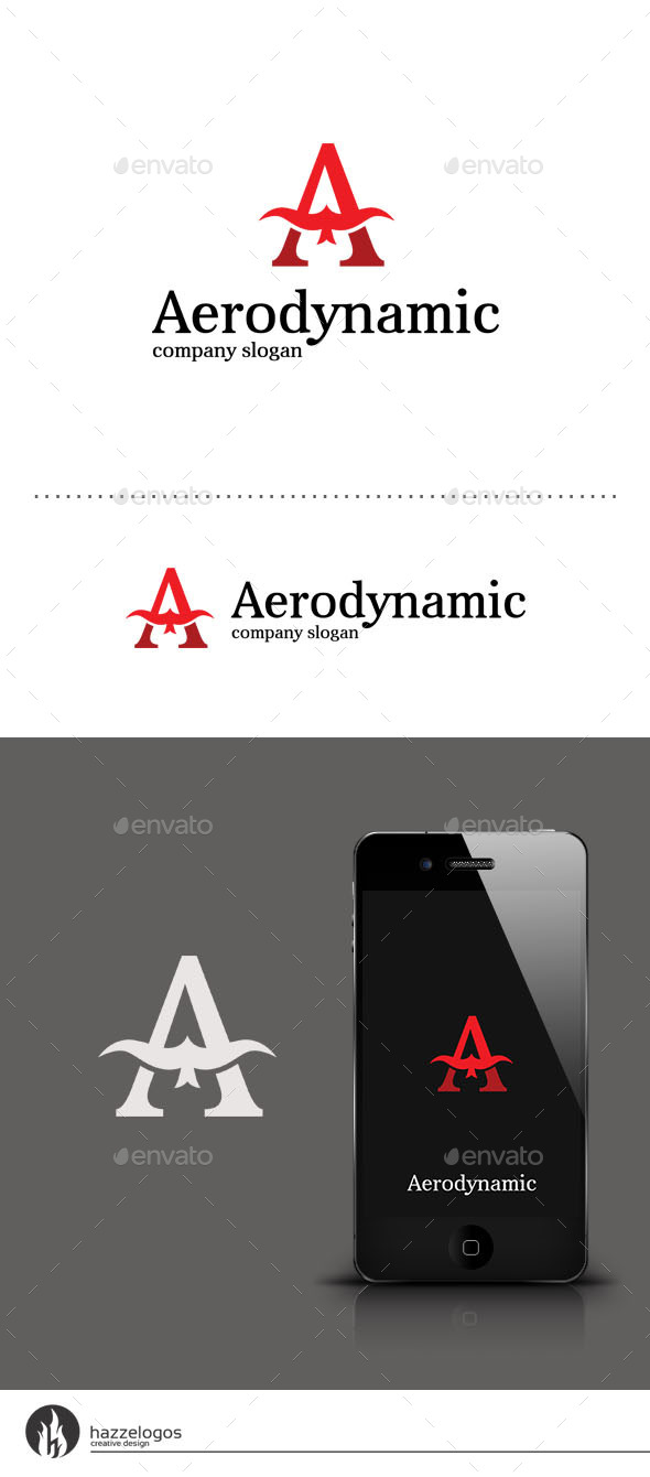 GraphicRiver Aerodynamic Logo 9409824