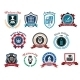 University, Academy and College Emblems - GraphicRiver Item for Sale