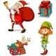 Four Christmas Symbols - GraphicRiver Item for Sale