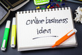Online business idea