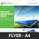 Green Energy Business Flyer Template - GraphicRiver Item for Sale