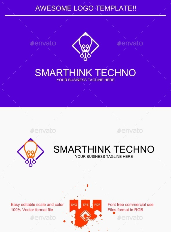 GraphicRiver Smarthink Techno Logo 9410489
