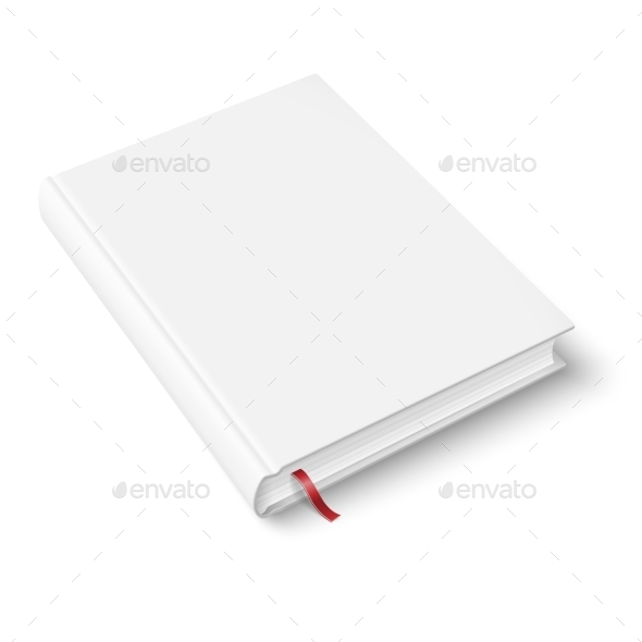GraphicRiver Blank Book Template with Bookmark 9410521