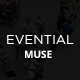 Evential - One Page Event Muse Template - ThemeForest Item for Sale