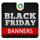 Black Friday Banners - GraphicRiver Item for Sale