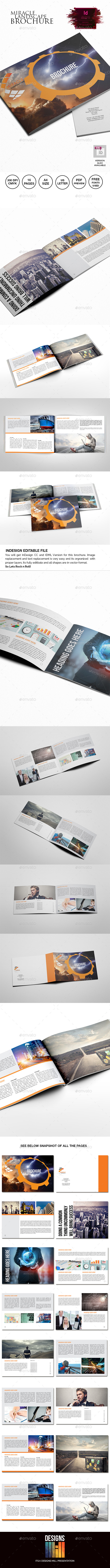 GraphicRiver Miracle Landscape Multipurpose Brochure 9411131
