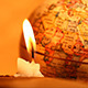 Candle With Globe 223 - VideoHive Item for Sale