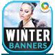 Winter Sale Banner Design Set - GraphicRiver Item for Sale