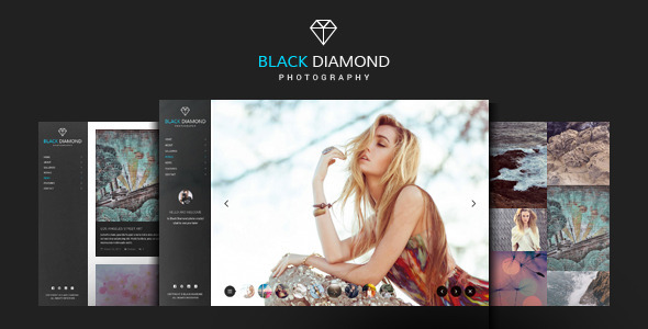 DIAMOND - Photography WordPress Theme