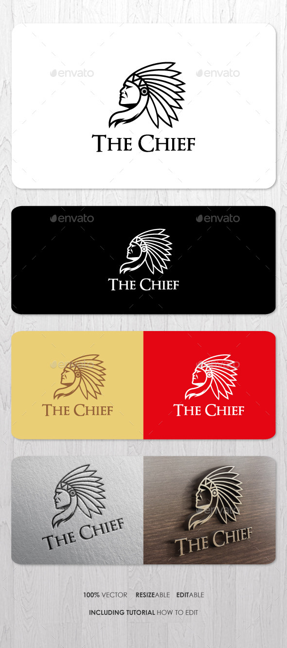 GraphicRiver The Chief Logo 9411934