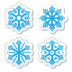 Snowflakes Icons  - GraphicRiver Item for Sale