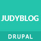JudyBlog - Elegant Blog Drupal Theme - ThemeForest Item for Sale