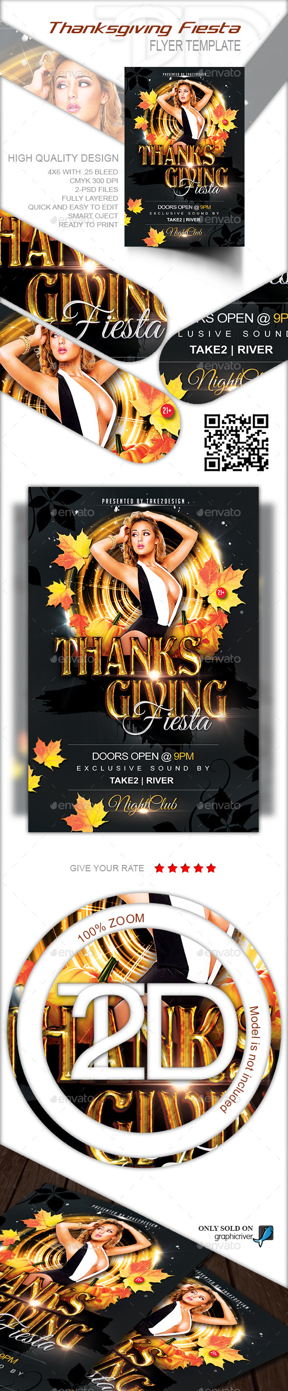 GraphicRiver Thanksgiving Fiesta 9412262