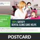 Medical Dental Care Health Postcards - GraphicRiver Item for Sale