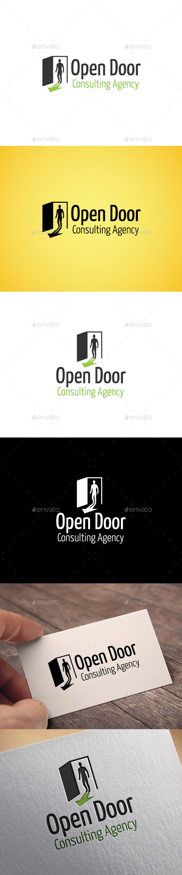 GraphicRiver Open Door 9412420