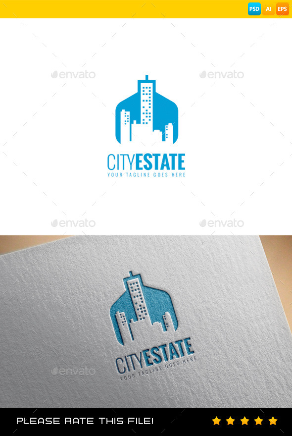 GraphicRiver City Logo 9412585