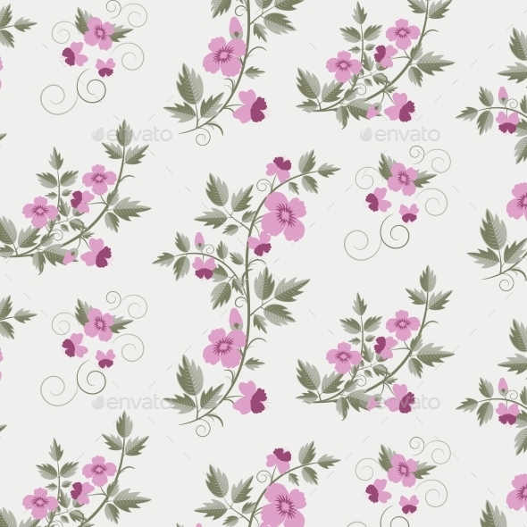 GraphicRiver Floral Pattern 9412598