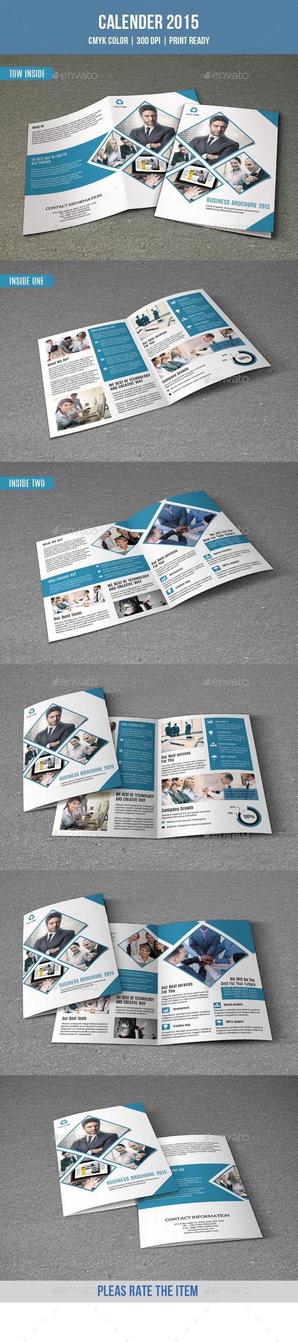 GraphicRiver Bifold Brochure for Business-V154 9412670