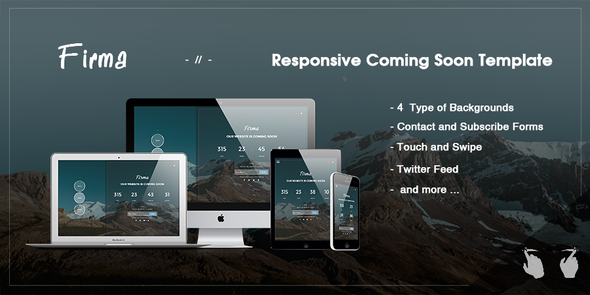 ThemeForest Firma Responsive Coming Soon Template 9367962