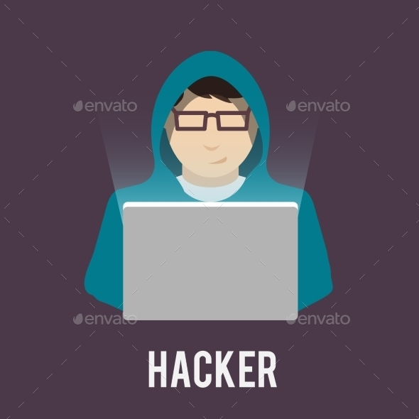 GraphicRiver Hacker Icon 9413347