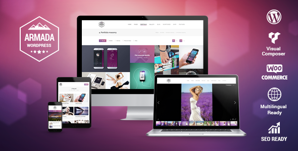Armada Multifunction Photography WordPress Theme